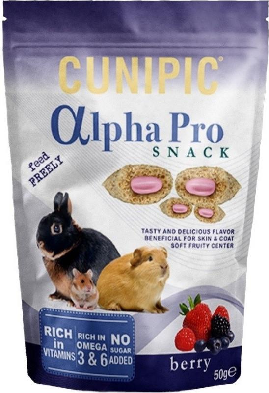 Cunipic Alpha Pro Snack friandises pour lapins et rongeurs