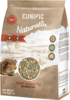 Cunipic Naturaliss Cochon d'Inde Aliment complet