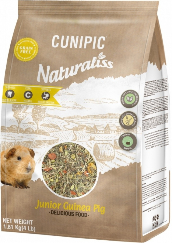 Cunipic Naturaliss Cochon d'Inde Junior Aliment complet