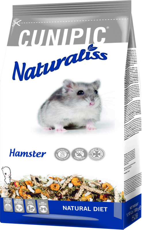 Cunipic Naturaliss Hamster Comida completa para hamsters