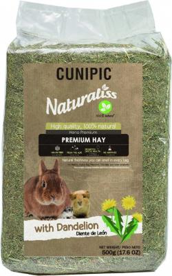 Cunipic Naturaliss Premium Hay Foin Pissenlit pour rongeurs et lapins