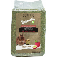 Cunipic Naturaliss Hay Foin pomme pour petits rongeurs et lapins