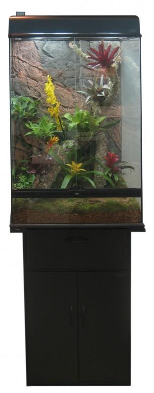 terrarium exo terra 60x45x90 cm xl terrarium et meuble. Black Bedroom Furniture Sets. Home Design Ideas
