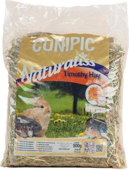 Cunipic Naturaliss Timothy Heno Caléndula para roedores pequeños y conejos
