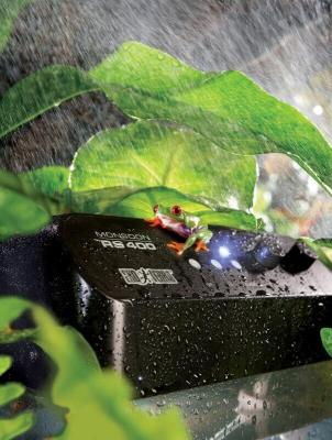 Generador de lluvia fina a alta presión MonSoon y sus accesorios