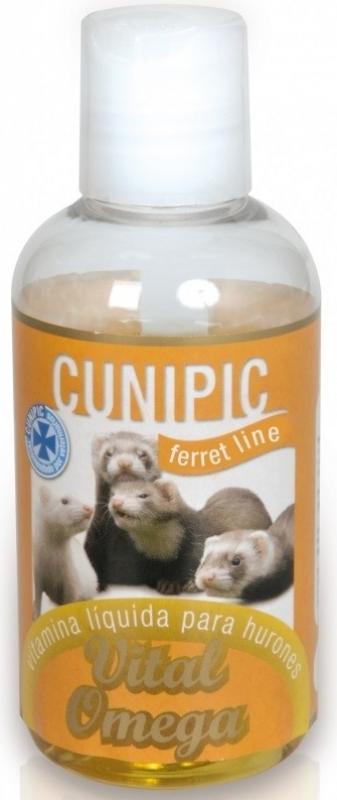 Cunipic Omega Vital Flüssige Vitamine und weiches Fell für Frettchen