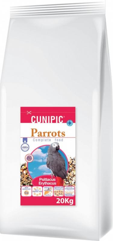 Cunipic Premium Parrots Aliment complet pour perroquets