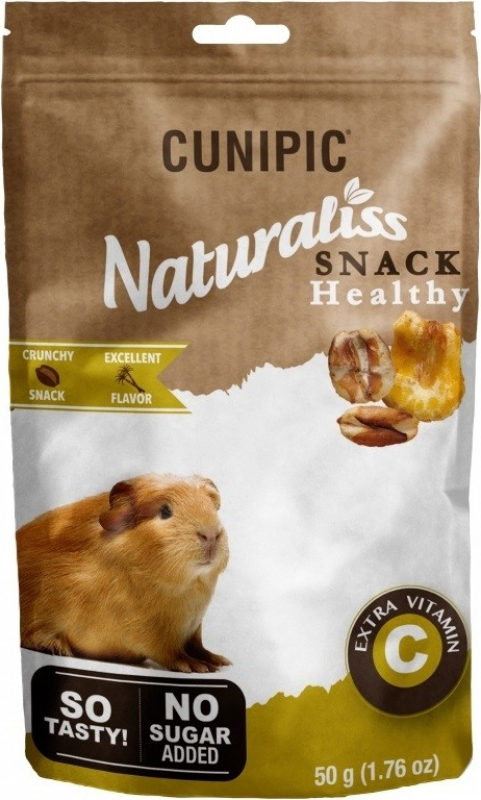 Cunipic Naturaliss Snack Healthy Vit C golosinas para conejillos de Indias