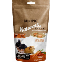 Cunipic Naturaliss Snack Multivitamines friandises pour rongeurs et lapins