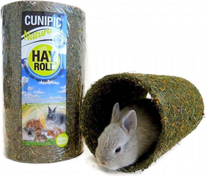 Cunipic Naturaliss Mountain Heutunnel für Nagetiere und Kaninchen