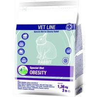 Cunipic Vetline Rabbit Obesity Formule pour l'obésité rencontrée chez le lapin