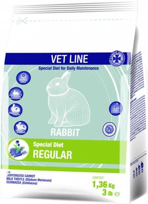 Cunipic Vetline Rabbit Regular Formule pour la bonne santé du lapin