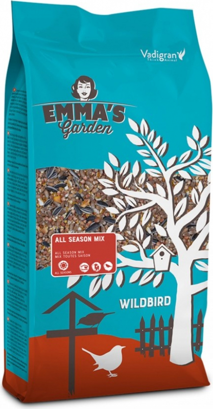 Emma's Garden All Season Mélange toutes saisons pour oiseaux du ciel