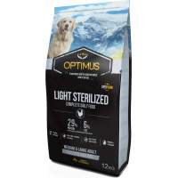 Optimus Adult Light / Sterilised pour Chien