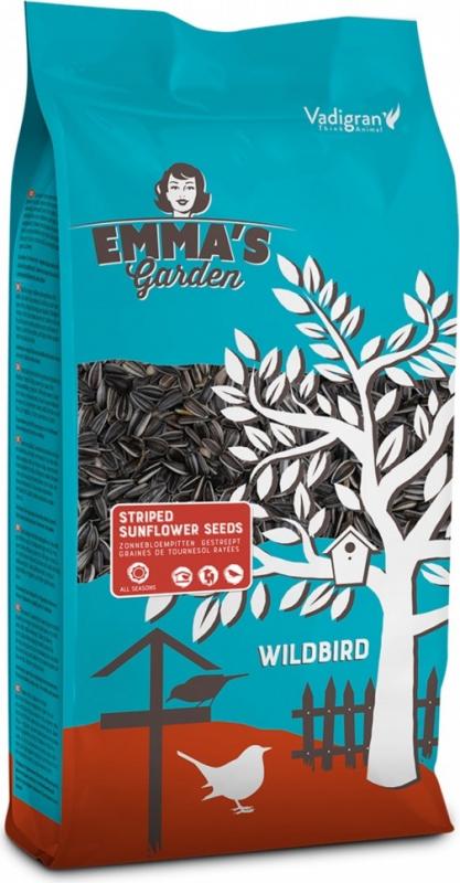 Emma's Garden Graines de Tournesol striées pour oiseaux du ciel