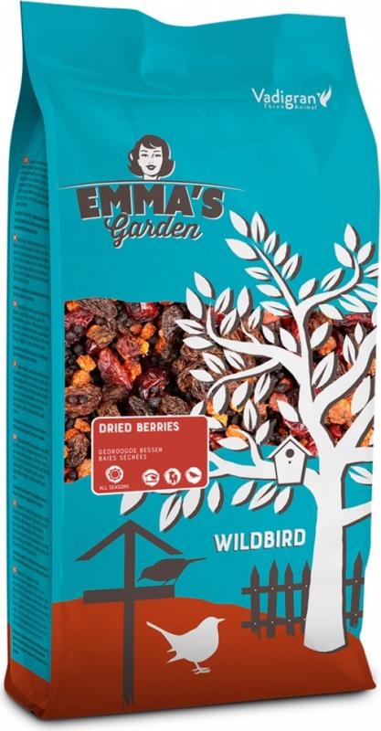 Emma's Garden Baies séchées pour oiseaux du ciel