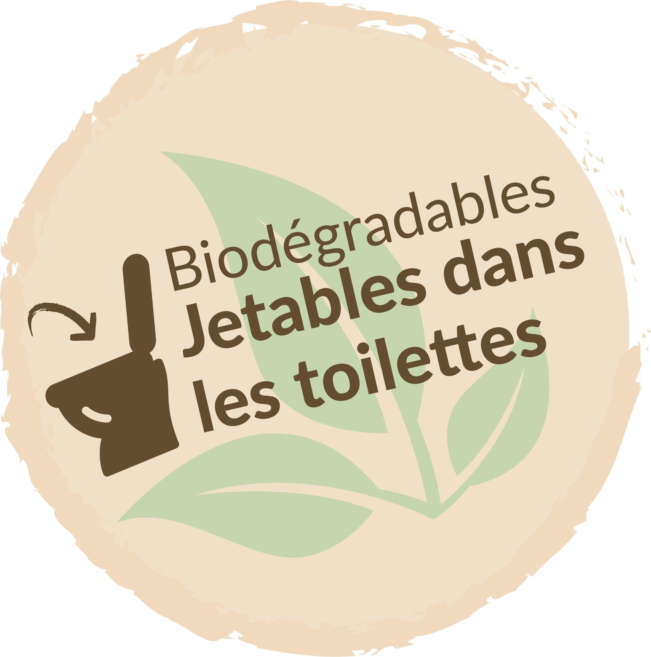 Facile à nettoyer : litière végétale 100% naturelle