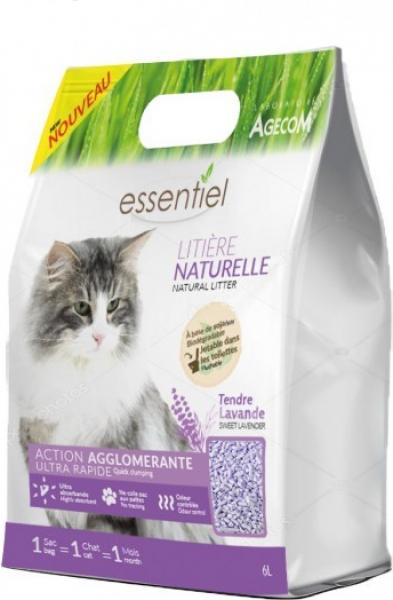 Litière Naturelle Biodégradable - 3 parfums au choix
