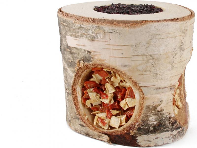 Friandises pour rongeurs rouleau en bois à grignoter