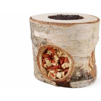 Guloseimas para roedores rolo de madeira para petiscar