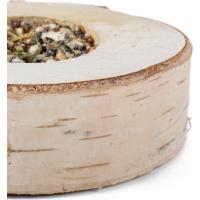 Pizza en bois à grignoter pour petits rongeurs