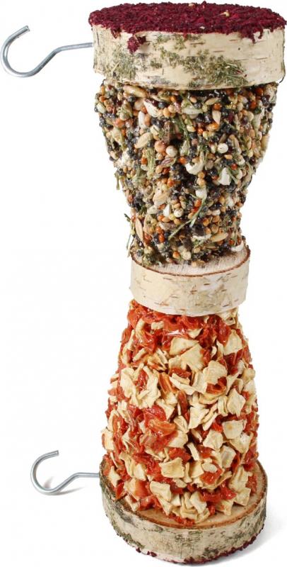IAKO Rouleau à grignoter pour rongeurs à suspendre - 20 cm
