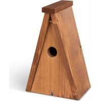 Emma's Garden Caixa de nidificação triangular pardais - Ø32mm