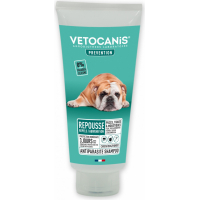 Shampoing antiparasitaire pour chien Vetocanis