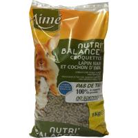 Aimé Nutri'Balance croquettes Lapin nain et Cochon d'Inde