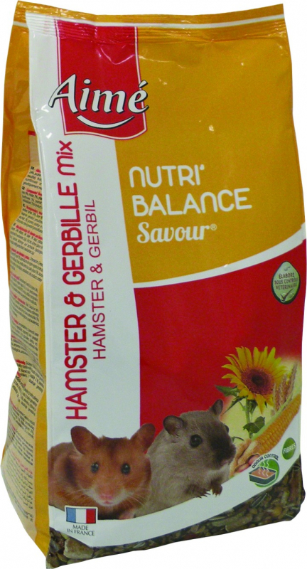 Aimé Nutri'Balance Savour hamster et gerbille