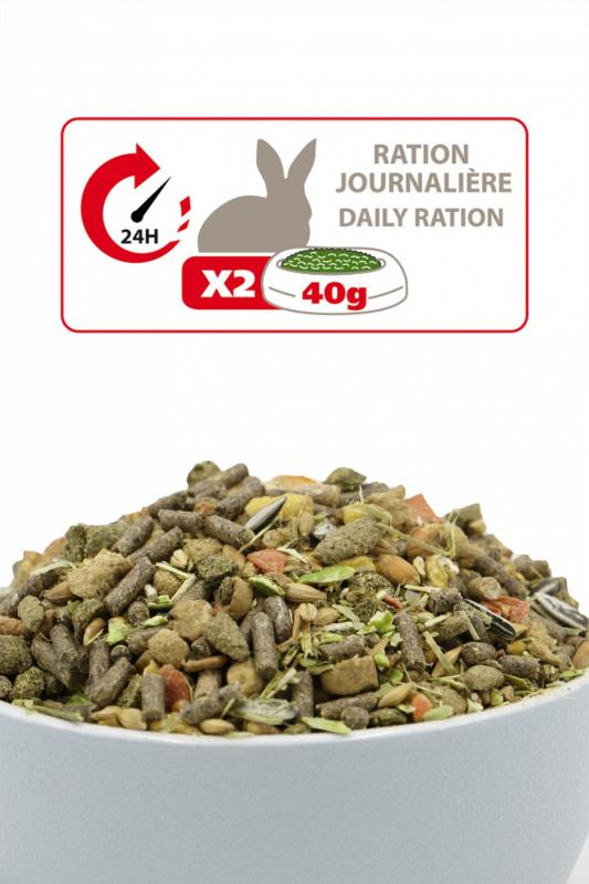 Aimé Nutri'Balance Alimento completo para coelhos anões