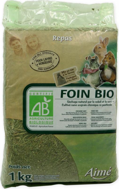 Aimé Foin BIO pour Rongeurs et Lapins