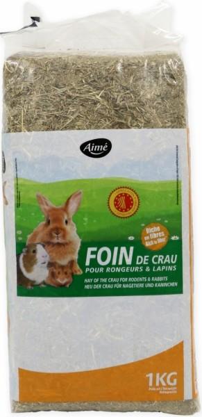 Aimé Foin de Crau AOP pour Lapins et Rongeurs
