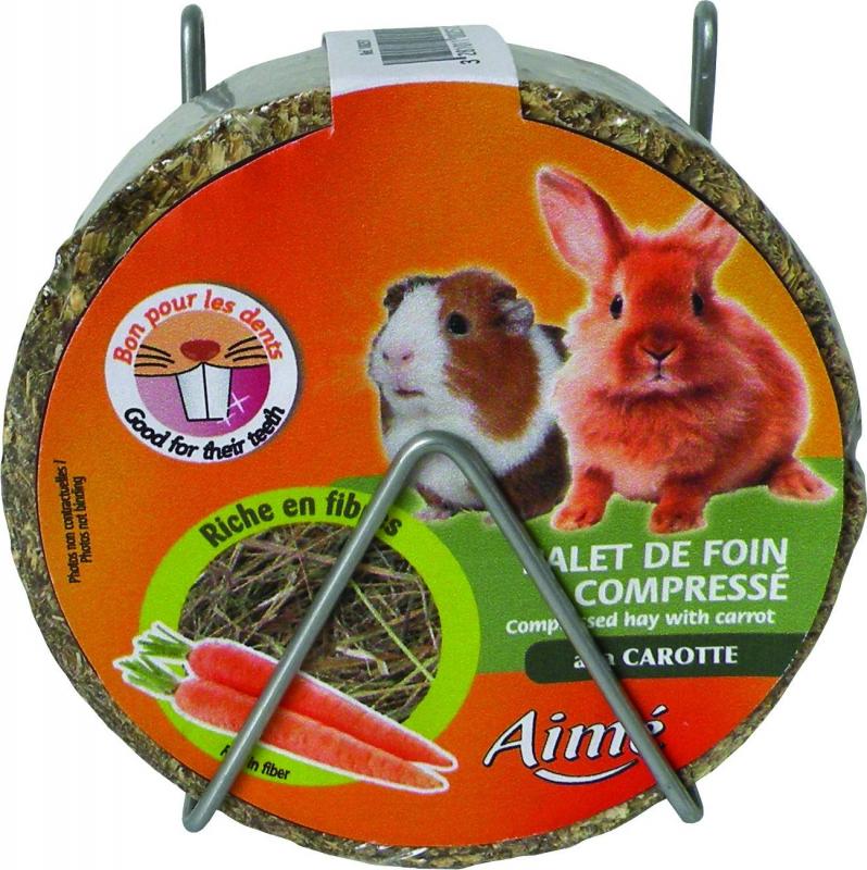 Aimé Blocco di fieno compresso per roditori e conigli