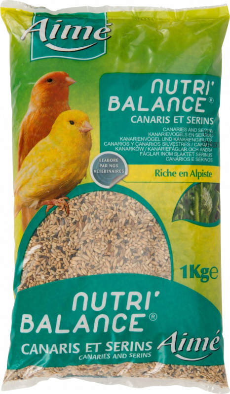 Aimé Nutri'Balance Mélange Aliment Complet pour Canaris