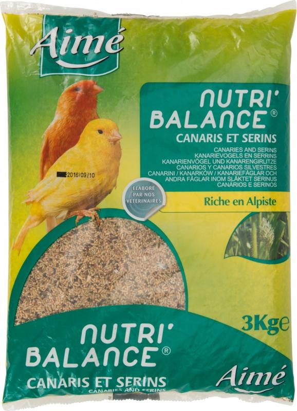 Aimé Nutri'balance Alimentos completos para Canários
