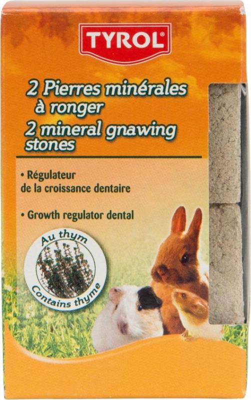 Tyrol Mineralsteine für Nagetiere und Kaninchen