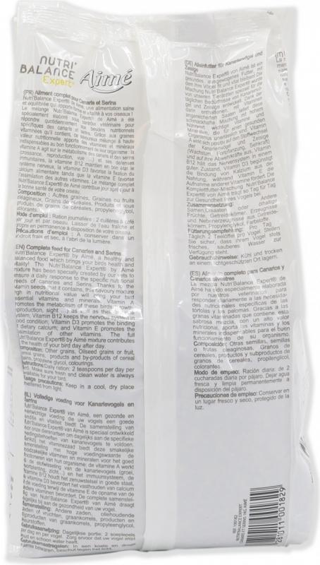 Aimé Nutri'Balance Expert Pasto Premium Alleinfuttermittel für Kanaren