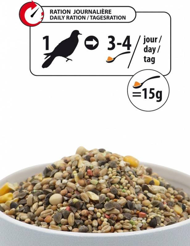 Aimé Nutri'Balance Expert Repas Premium Aliment Complet pour Tourterelle