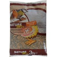 Tyrol Nature Mix+ Mélange de Graines pour Oiseaux du Jardin