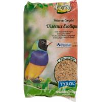 Tyrol Nourriture Complète pour Oiseaux Exotiques