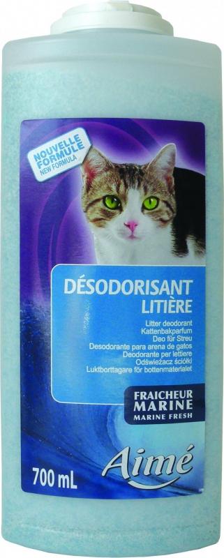 Désodorisant litière pour Chat
