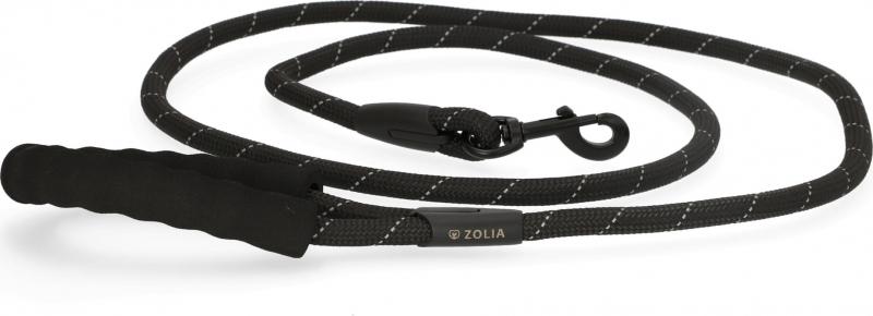 Laisse en corde Waly Noire Zolia