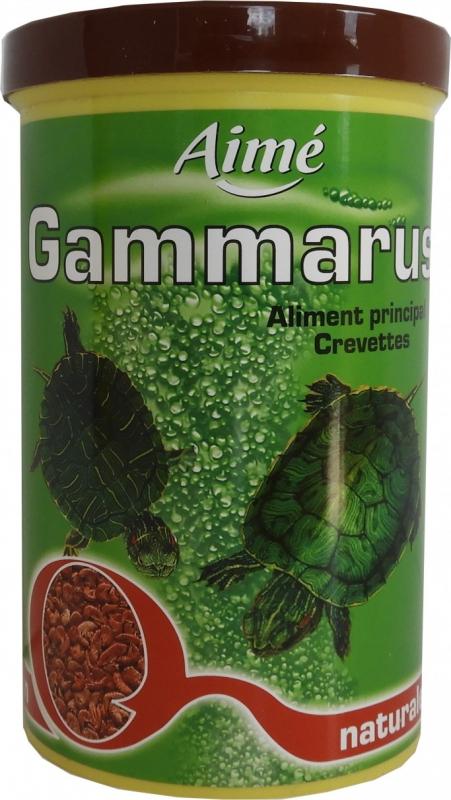 Alleinfuttermittel für Schildkröten auf Garnelenbasis
