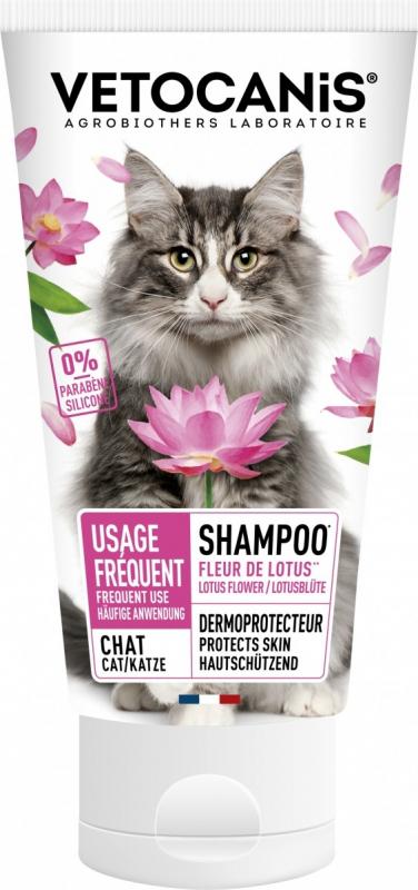 Shampoing usage régulier, poil doux et brillant