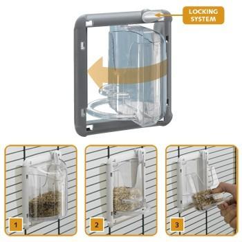 mangeoire pivotante brava 1 et 2 accessoires pour oiseaux. Black Bedroom Furniture Sets. Home Design Ideas