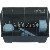Zolux Cage Indoor2 50cm pour hamster - Bleu ou rose