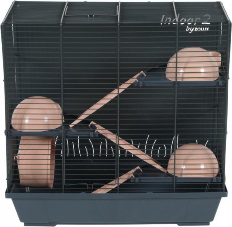 Cage pour hamster - 50cm - Zolux Indoor2 triplex