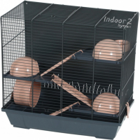 Zolux Cage Indoor2 triplex 50cm pour hamster