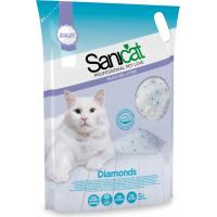Litière de silice pour chat Sanicat Diamonds